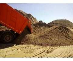 Песок. Щебень. Цемент