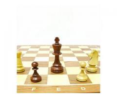 Турнирные 5 шахматы деревянные 47 см.