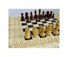 Королевская битва - Подарочный набор шахматы шашки нарды