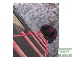 Лестницы ГОСТ от производителя канатные