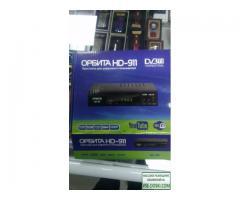 Цифровой ресивер DVB-T2 Орбита HD911 + HD плеер 1080i. TV-тюнер в Уссурийске