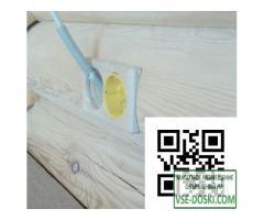 Подрозетники (накладки) для оцилиндрованного бревна