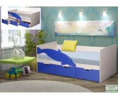 Детская кровать с матрацом 170х85